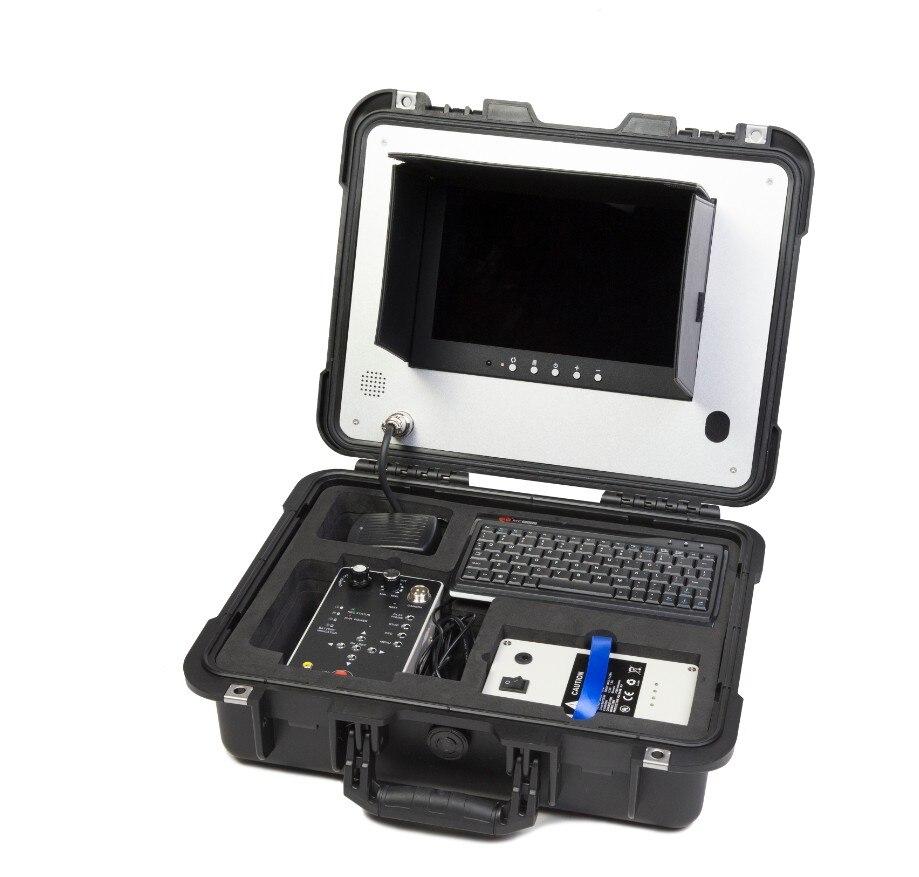 200 м кабель скважинная камера с DVR записью и счетчиком функция V10-100