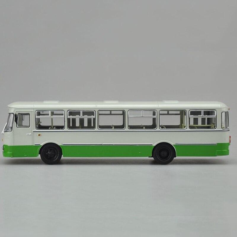 1/43 échelle Bus russe en alliage de métal Tram Bus modèle moulé sous pression voiture enfant modèle jouet enfants véhicule trafic outils Collection de cadeaux - 3