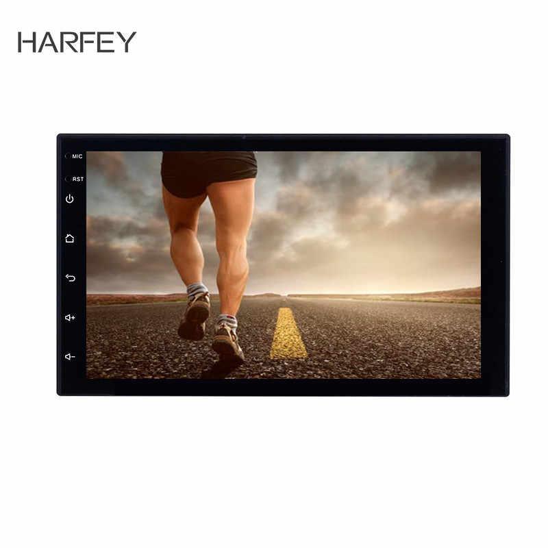 "Harfey 2 喧騒車のラジオ 7 ""HD Autoradio マルチメディアプレーヤー 2DIN タッチスクリーンの自動オーディオ、カーステレオ MP3 Bluetooth USB TF FM カメラ"