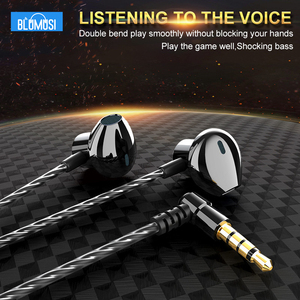 Image 2 - F12 Wired In Ear Earphones Bass Headset Elbow Plug for Convenient Mobile Gaming Movie Sports with Microphone and Wire control