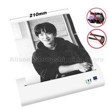 Imprimante thermique Portable A4, Bluetooth, pour ordinateur Android et iOS, papier de Test, pour documents et photos