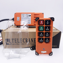 F21-E2B TELECRANE 6 channel wireless rf industrial crane radio remote control switch for cranes цена и фото