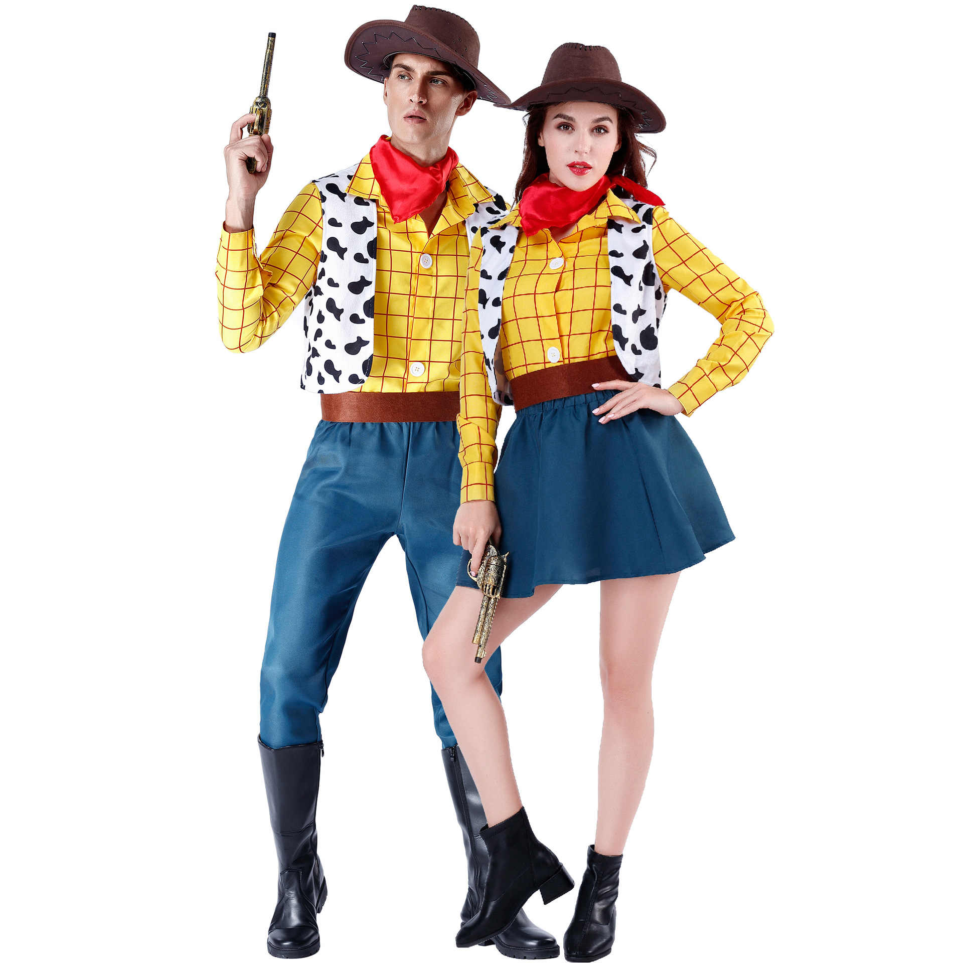 Toy Story 4 Woody Fancy Dress Boys Halloween Performance Costume Party Cosplay