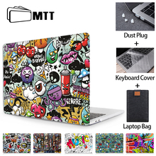 MTT Laptop Case For Macbook Air Pro 11 12 13 15 16 Touch Bar for macbook air 13 funda Cartoon Laptop Sleeve a2179 a1932 a1466