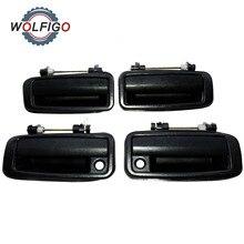 WOLFIGO Front Rear Left Right Exterior Door Handle for Toyota Corolla 1988 1992 6924012110 6923012110 6922012110 6921012110