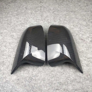 Image 4 - זוג אחד Rearview מירור כיסוי עבור b mw X3 F25 G01 X4 F26 G02 X5 E70 F15 G05 X6 e71 F16 G06 ABS מראה כובעי להחליף את המקורי