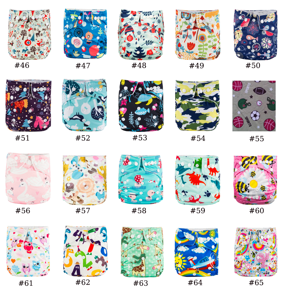 Big Promotion 8pcs /Lot Babyland Bamboo Charcoal Diapers Baby Cloth Nappy My Choice Models Child Nappy Covers 3kg-15Kg Diapers
