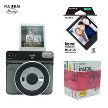 Fujifilm INSTAX Mini SQ6 كاميرا فورية فيلم كاميرا فوتوغرافية + 10 30 ورقة Fujifilm Instax Mini SQ6 كاميرا فورية فيلم ورق طباعة الصور