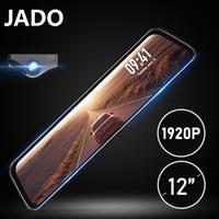 JADO G840S Stream RearView Mirror DVR Dash Camera 12'' FHD Dual 1080P Car Rear View Camera Dash Cam Night Vision Safe Reminder