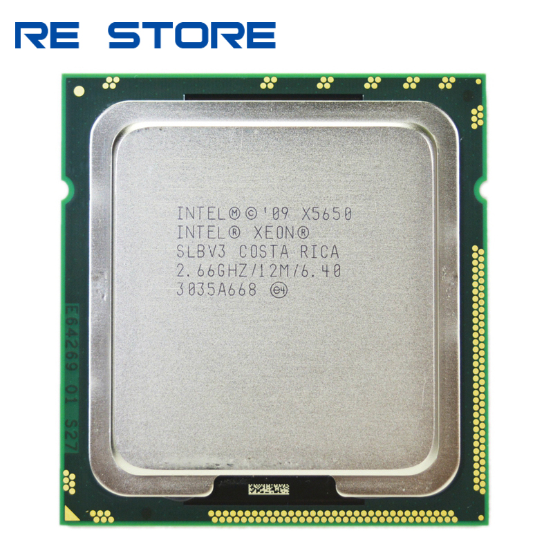 Intel XEON X5650 2.66GHz SLBV3 Processor Socket LGA1366 HEXA Core SERVER CPU