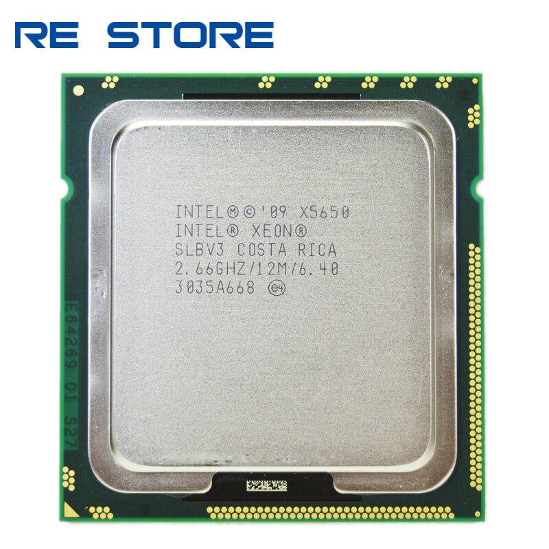 INTEL XEON X5650 2.66 GHZ SIX CORE PROCESSOR CPU SLBV3 paste