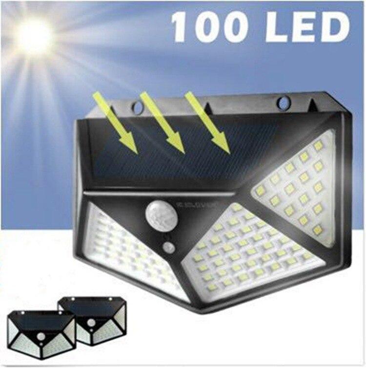 Купить светильник на солнечной батарее с датчиком движения на Алиэкспресс