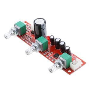 Image 5 - 2 Pieces NE5532 Preamp Pre amplifier Tone Board Kit Treble Bass Volume Control Module