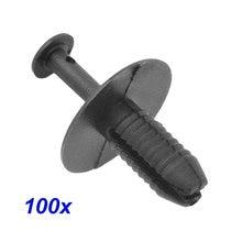 100pcs 7.5 milímetros Clipes de Plástico No Vidro Traseiro para BMW X5 E38 E39 E46 E90 Carro Roda Arch Forro Fender Retentor de Expansão fastener Rebites Push Pin