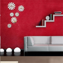 Creative Environmental Protection Removable Wall Decoration Modern Wallpaper Sticker Flower Patton Room Decor Ecofriendly Decals