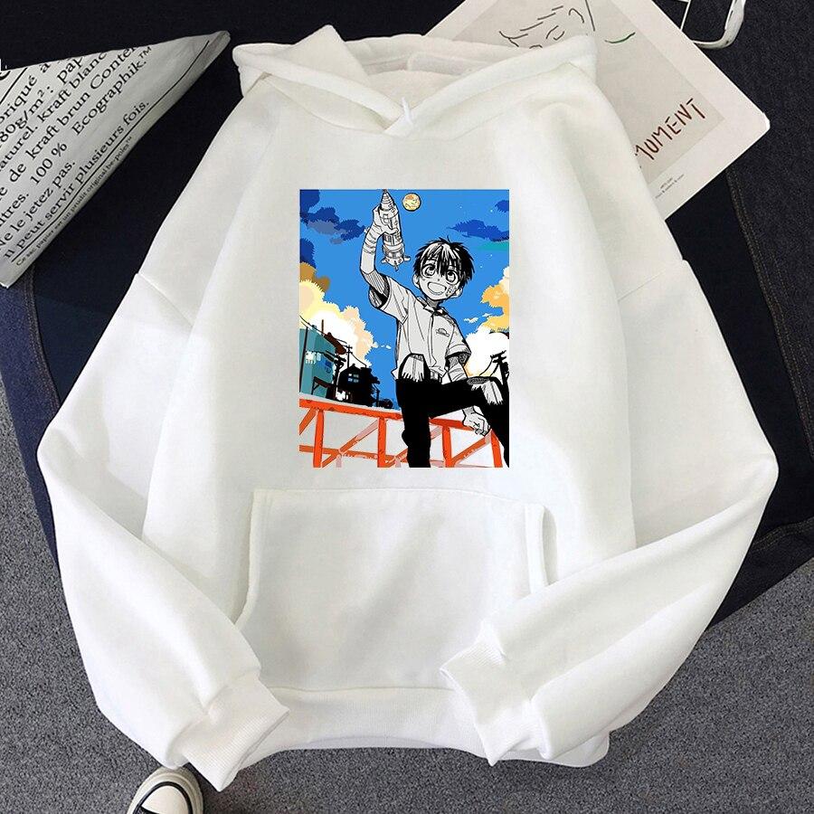 Jibaku Shounen Hanako kun Harajuku Womens Hoodie Fashion Fleece Hoodies Casual Clothes Street Loose Female Sweatshirt 16