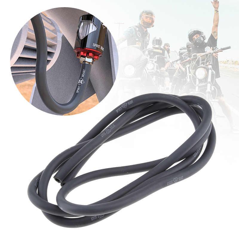 100cm motosiklet yakıt hortumu kauçuk gaz/benzin/yağ/dizel teslimat karbüratör tüp hortum ATV Quad go Kart 5mm/0.2 inç
