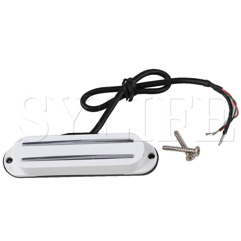 85mm 4 Wires Dual Coil Magnetic Dual Rail Humbucker Electric Guitar Pickup