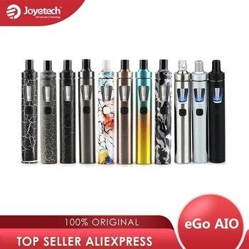 Original Joyetech eGo AIO Vape Kit Starter Kit w/ 2ml Tank & 1500mah Battery eGo aio Vape Kit & BF Coil pen kit aio vs ijust s