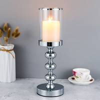 Europe Metal Candlestick Holder Candle Stand For Coffee Dining Table Wedding Centerpiece Christmas Halloween Home Decor CH205