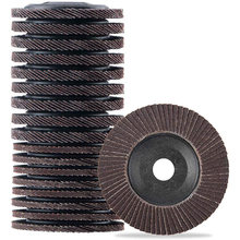 Flap Disc 20 Pack Flap Wheel for Grinders 4 Inch Grinding Wheel for Metal Wood Sanding Polishing(China)