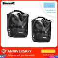 Rhinowalk  2 штуки  20л  сумка для велосипеда  Аксессуары для велосипеда  водонепроницаемая портативная велосипедная сумка  сумка для багажника  в...