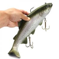 Soft Lures 30cm  400g Big Size Simulation Soft Fishing Lure Sea Boat Fishing Artificial Baits