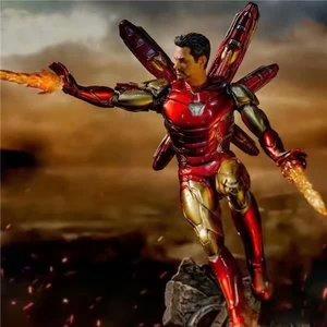 Image 5 - 10.4 นิ้ว 26 ซม.ใหม่ภาพยนตร์ Avengers Endgame Iron Man MK50 หน้าเปลี่ยนรูปปั้น PVC Action FIGURE Collection Gift