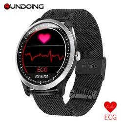 RUNDOING N58 ЭКГ PPG умные часы с электрокардиографом ЭКГ дисплей Холтер ЭКГ монитор сердечного ритма кровяное давление умные часы