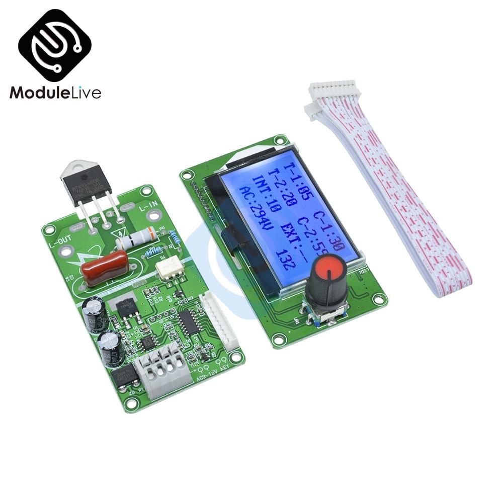 Image 3 - Цифровой ЖК электронный аппарат для сваркиАппараты точечной сварки    АлиЭкспресс