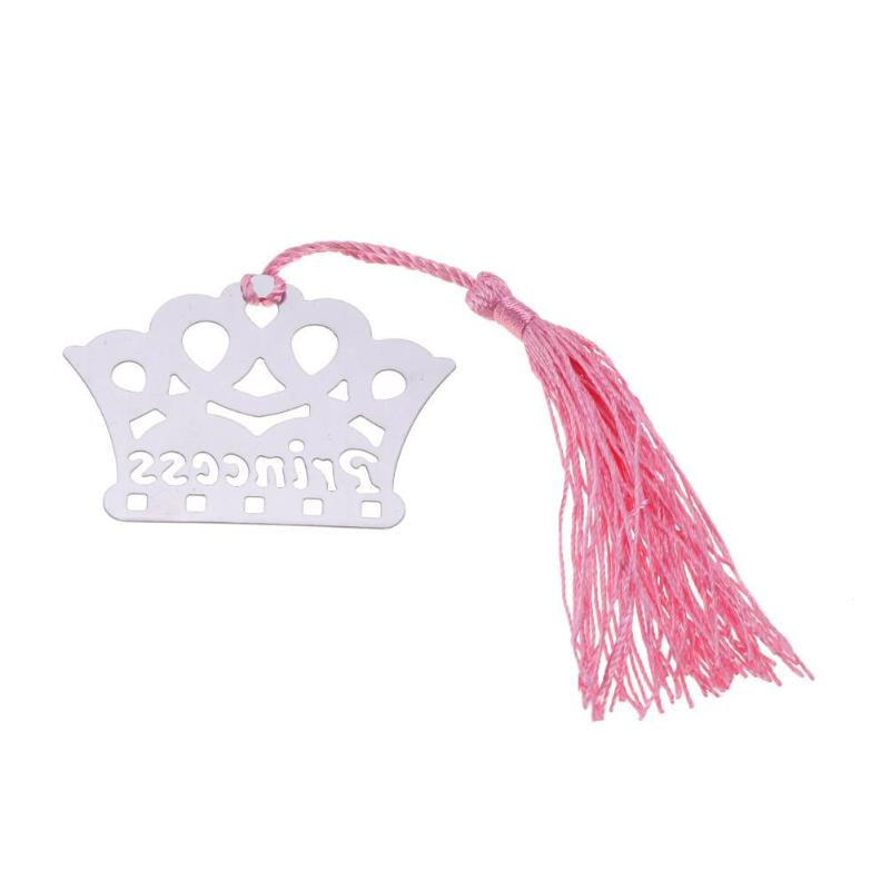 Metal Crown Bookmark Page Maker Wedding Supplies Birthday Gift With Box