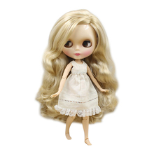 Naked Doll Blonde Body-Side Face 30cm Icy Hair-Joint Parting-Hair Bjd Toy Factory Shiny