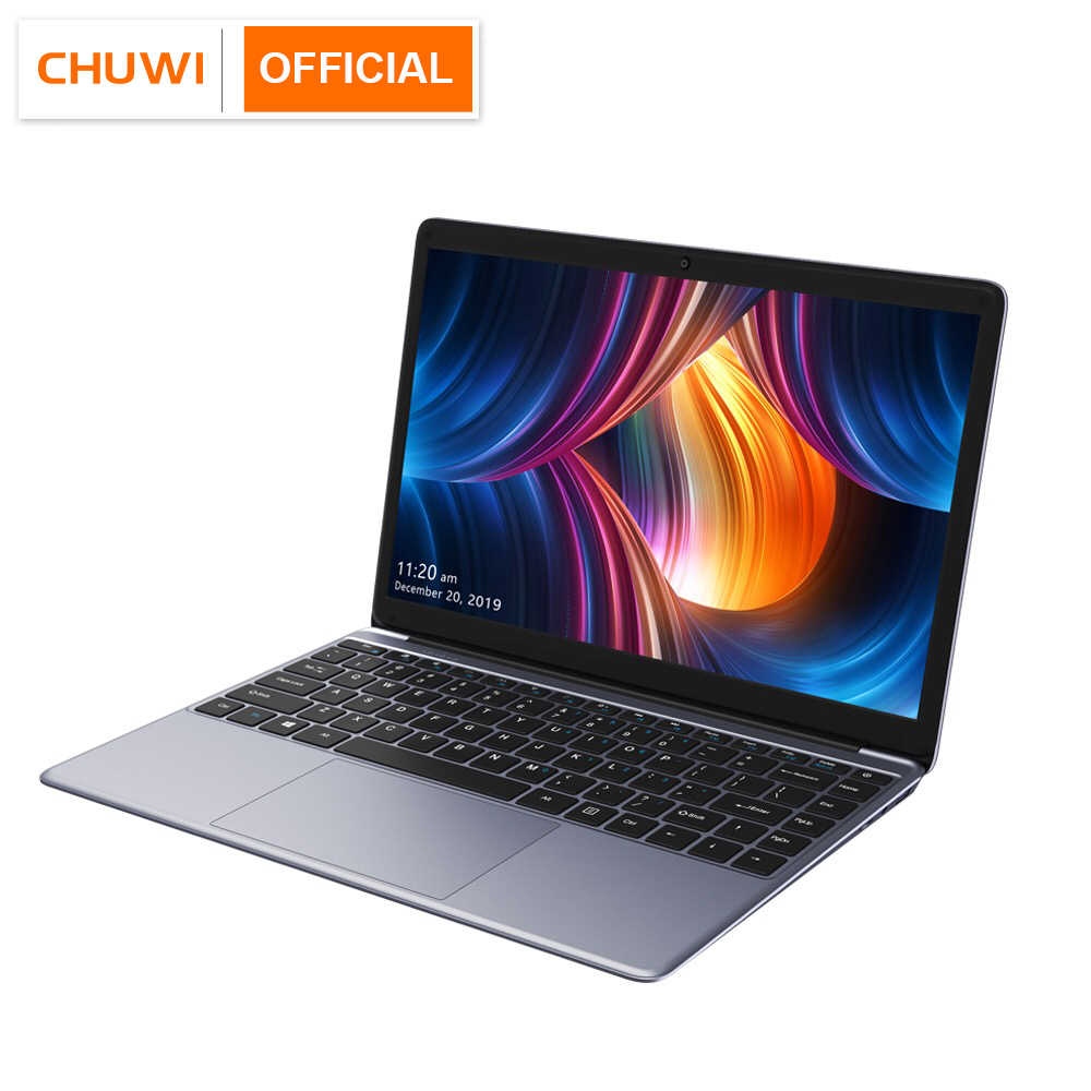 2020 NOVA CHEGADA CHUWI HeroBook Pro 14.1 polegada 1920*1080 IPS Tela Intel Processador N4000 DDR4 10 8GB 256GB SSD Windows Laptop