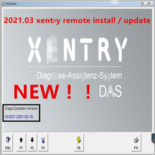 2021.03 versão xentry software remoto instalar e ativação mb estrela sd c4/c5/c6 software 2021.03 xentry uso rápido