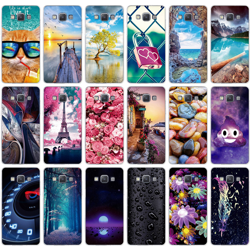 For Samsung Galaxy A5 Cover TPU Soft Silicon Cases for Samsung Galaxy A5 2015 SM-A500F A500H A500H 5.0inch Mobile Phobe Bags