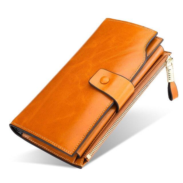 Luxury Women Wallets Genuine Leather