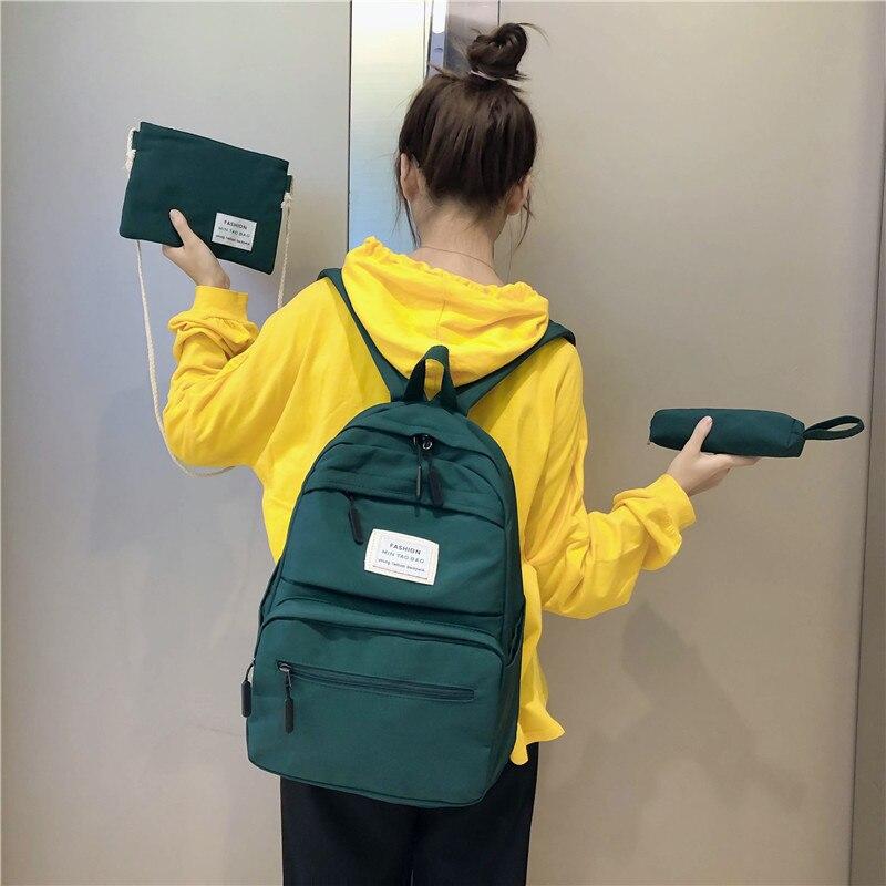 3 комплекта, школьные сумки для девочек подростков, рюкзак для малышей детей студентов, дорожная сумка на плечо для подростков, детский школьный ранец, новый женский рюкзак|Школьные ранцы| | АлиЭкспресс