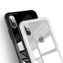 CASEIER Tempered Glass Phone Case For iPhone 11 2019 XR XS MAX X Full Protective Soft Cases 7 8 6 6S Plus Back Covers