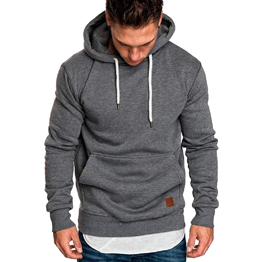 Männer Herbst Winter Sportswear Hoodie Sweatshirt Hip Hop Langarm Casual Mit Kapuze Pullover Herren Lose Hoodies Bluse Sweatshirt
