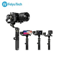 FeiyuTech G6 Plus G6P Action Camera stabilizzatore cardanico palmare a 3 assi per SONY Canon Mirrorless Camera GoPro 8 7 6 Smartphone