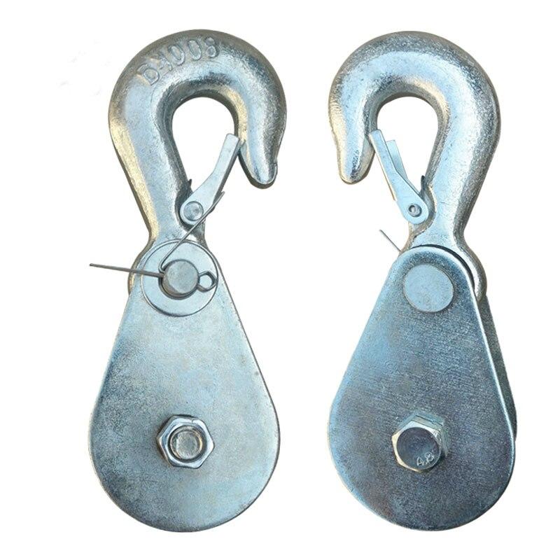 Mini Electric Hoist Hook 0.5T/1T Electric Hoist Hook Hoist Block Hook Small Crane Pulley