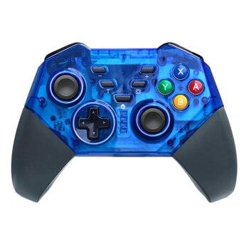 Mando a distancia inalámbrico Bluetooth Mando Pro controlador Joystick para Nintend Switch NS consola de juegos/PC con vibración de eje giroscópico