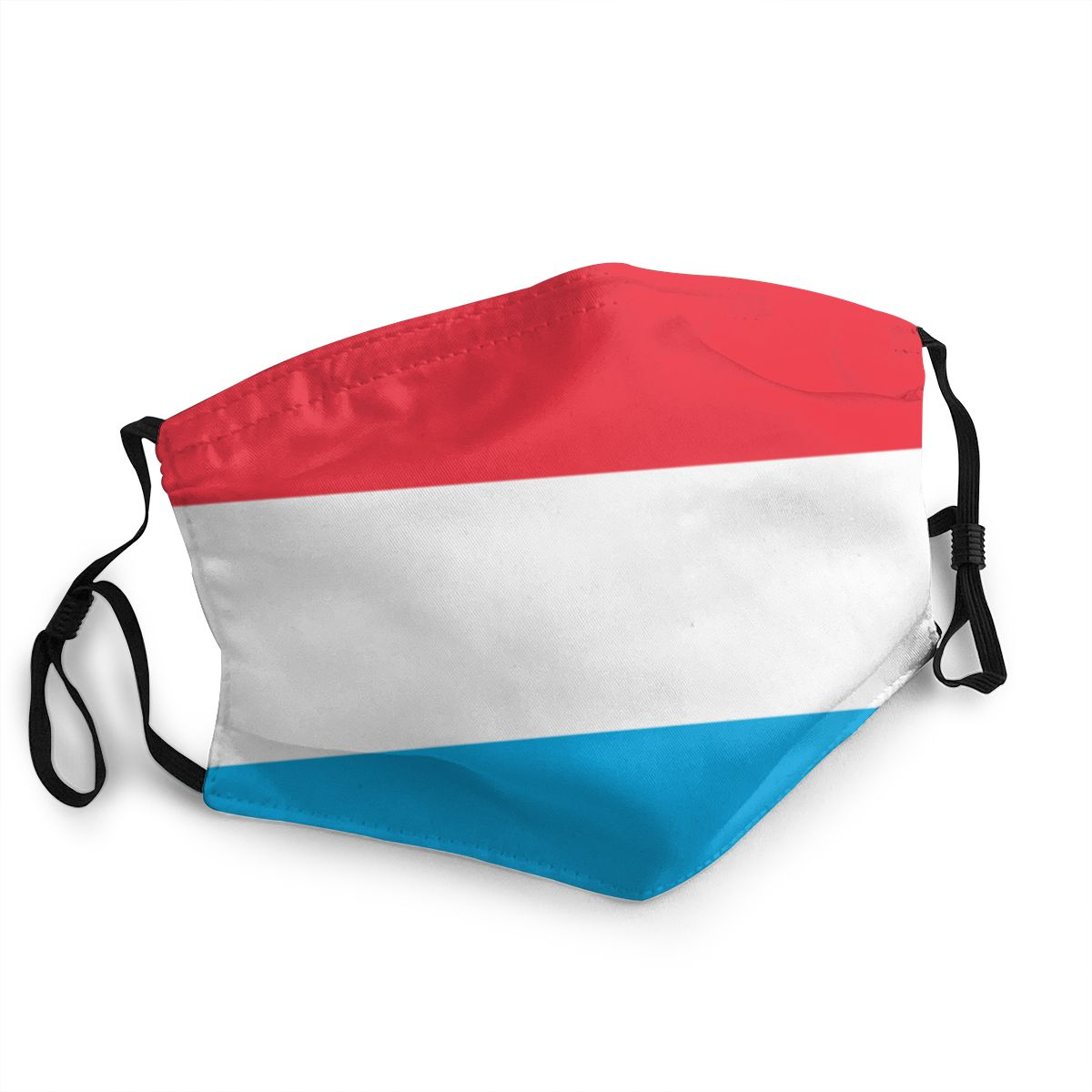 Luxembourg Flag Reusable Mouth Face Mask Printed Anti Haze Dustproof Mask Protection Cover Respirator Mouth Muffle
