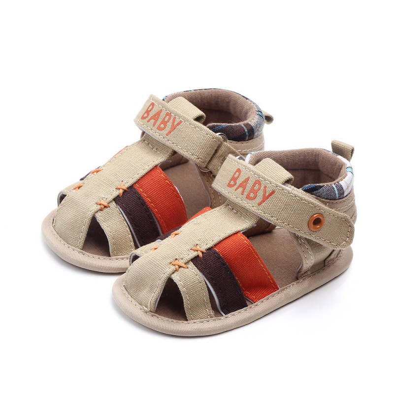 Summer Canvas Newborn Baby Shoes Baby Girl Hollow Letter Soft-Soled Crib Shoes Infant Boy Girl Insert Prewalkers Shoe