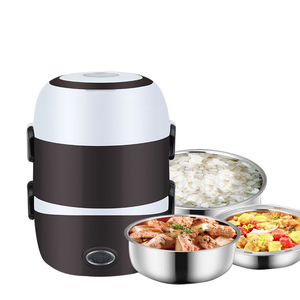 Electric Lunch Box Rice Cooker Food Warmer Bento Lunch Box Food Heater Multifunctional Portable Food Storage Warmer