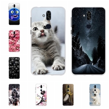 цена For Asus Zenfone 5 Lite ZC600KL Case Soft TPU For Asus Zenfone 5 Lite ZC600KL Cover Dog Pattern For Asus Zenfone 5Q ZC600KL Bag