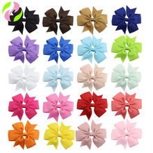 Headwear Hairpin Ribbon-Bow Grosgrains Kids Women with Cheap for 40-Colors Available