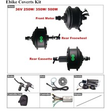 Conversion-Kit Controller Hub-Motor Ebike 500w Brushless 36v 250w Geared 350W with Pas-Speed