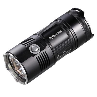 NITECORE светодиодный фонарик TM06 4000лм прожектор с 4x18650 USB портом перезаряжаемый аккумулятор для охоты, рыбалки, фонарь освещения - 6