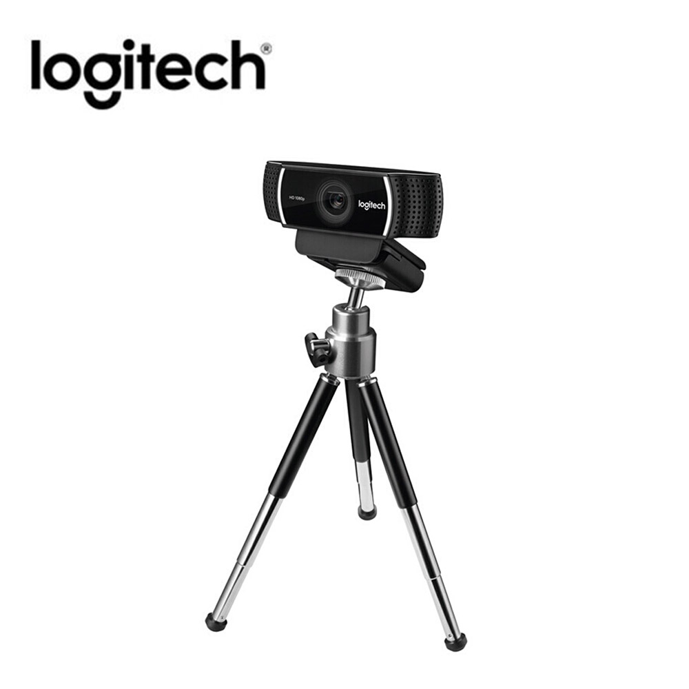 Logitech C922 Pro Autofocus Webcam Built-in Microphone Streaming Video Web Cam 1080P 30FPS Full HD Anchor Camera With Tripod New image